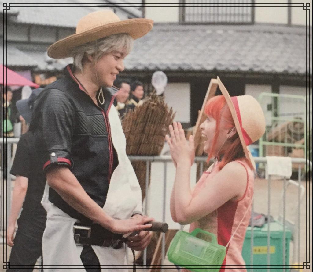 橋本環奈さんと小栗旬さんの画像