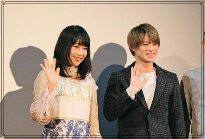 平野紫耀さんと桜井日奈子さんの画像