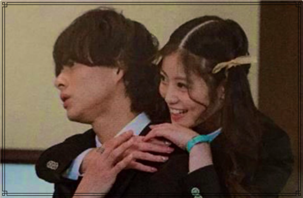 平野紫耀さんと今田美桜さんの画像