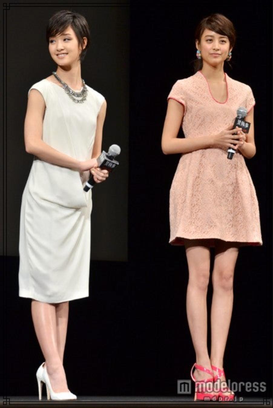 剛力彩芽さんと山本美月さんの画像
