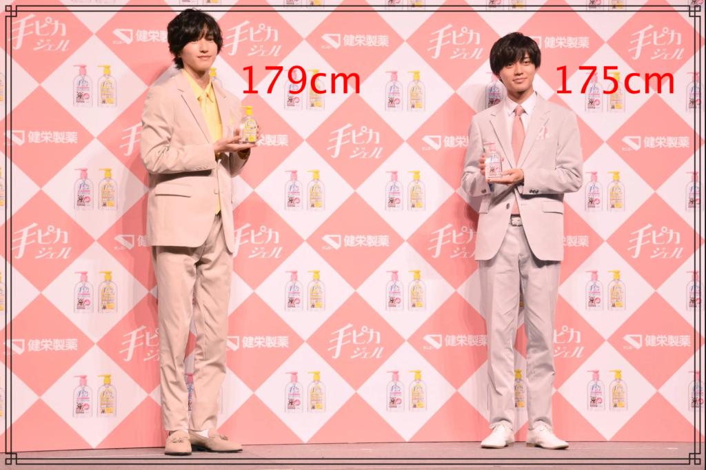道枝駿佑さんと永瀬廉さんの画像