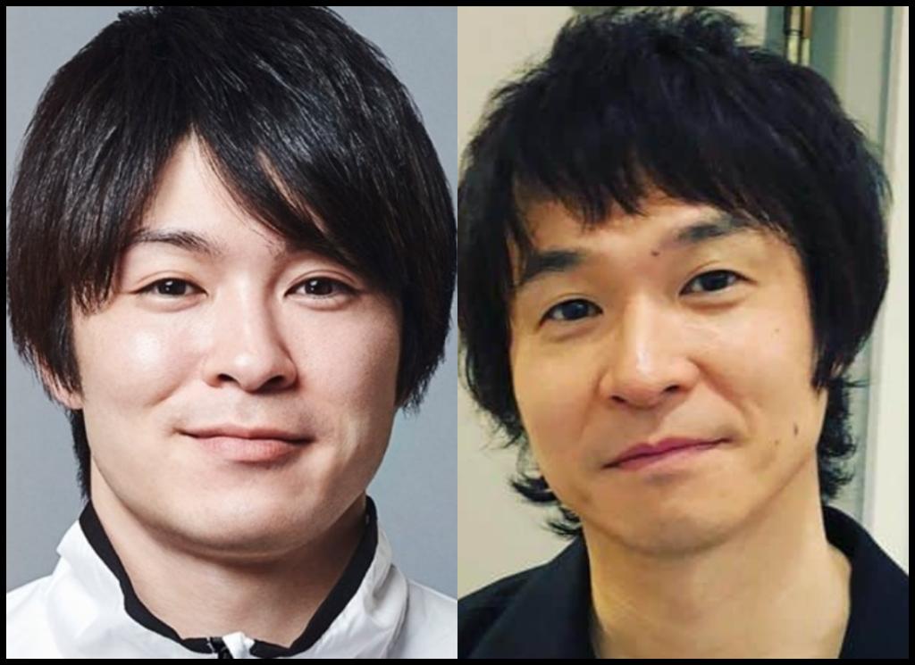 内村航平さんと間慎太郎さんの画像