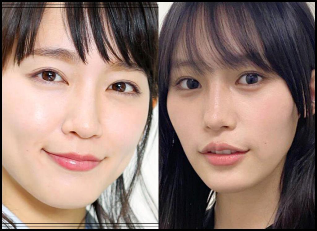 吉岡里帆さんと南沙良さんの画像