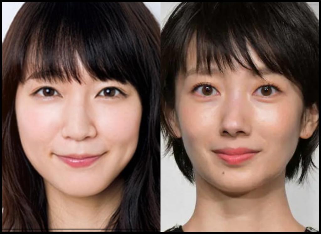 吉岡里帆さんと波瑠さんの画像