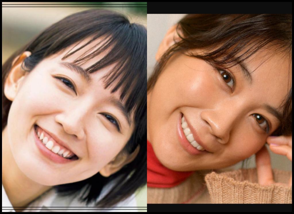 吉岡里帆さんと松本穂香さんの画像