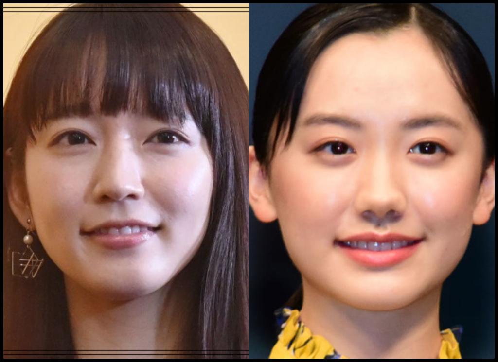吉岡里帆さんと芦田愛菜さんの画像