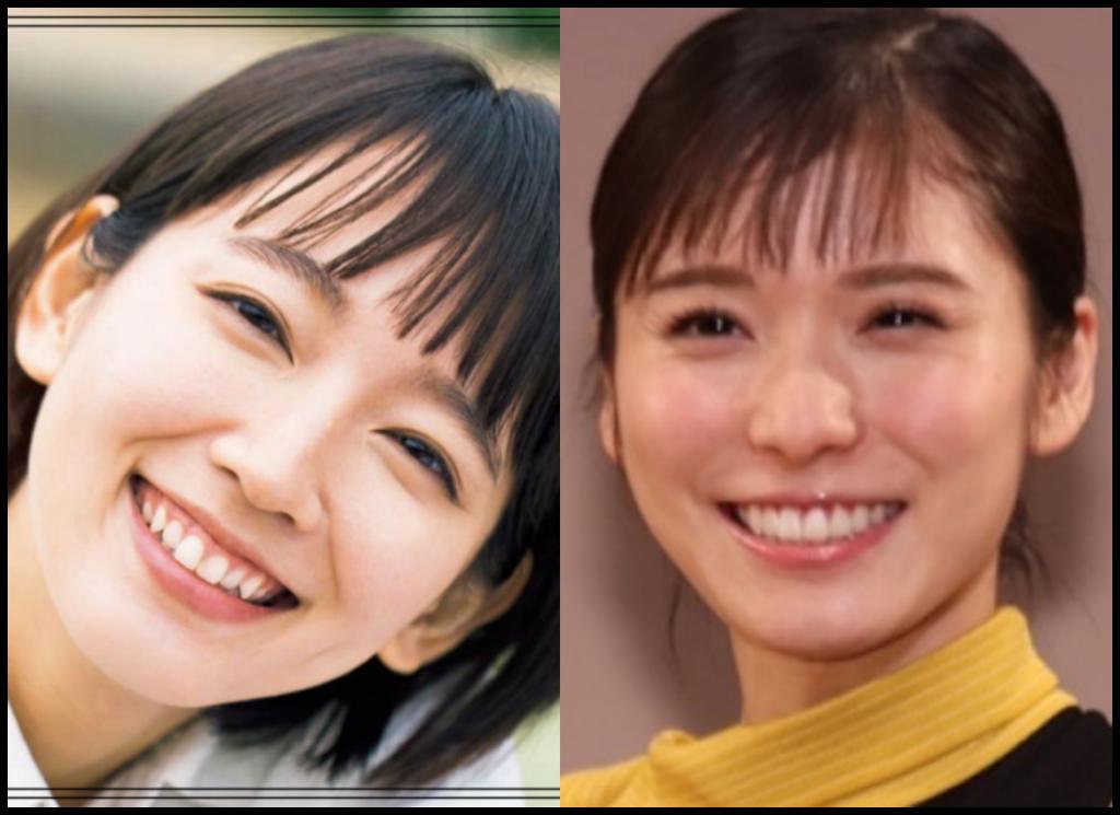 吉岡里帆さんと松岡茉優さんの画像