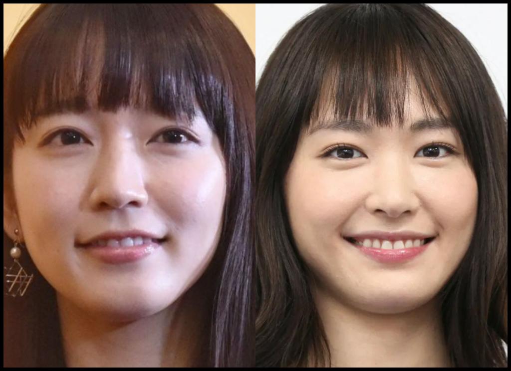 吉岡里帆さんと新垣結衣さんの画像