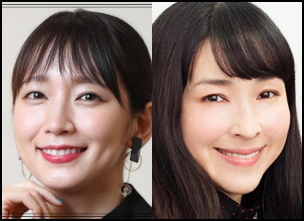吉岡里帆さんと麻生久美子さんの画像