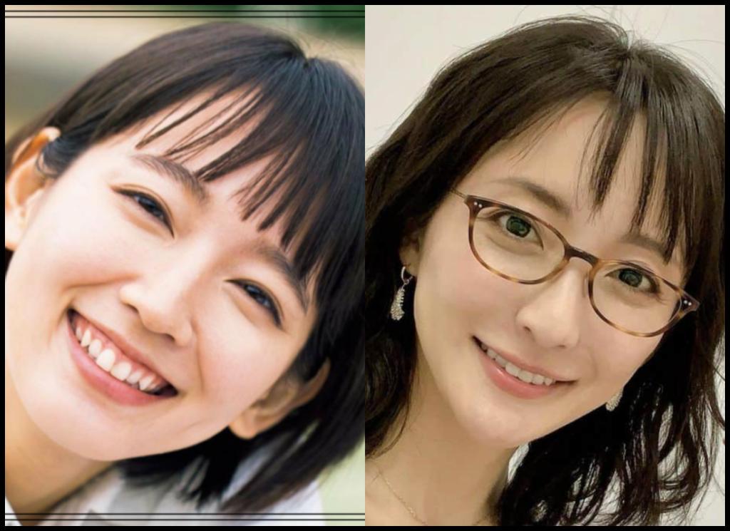 吉岡里帆さんと松澤千晶さんの画像
