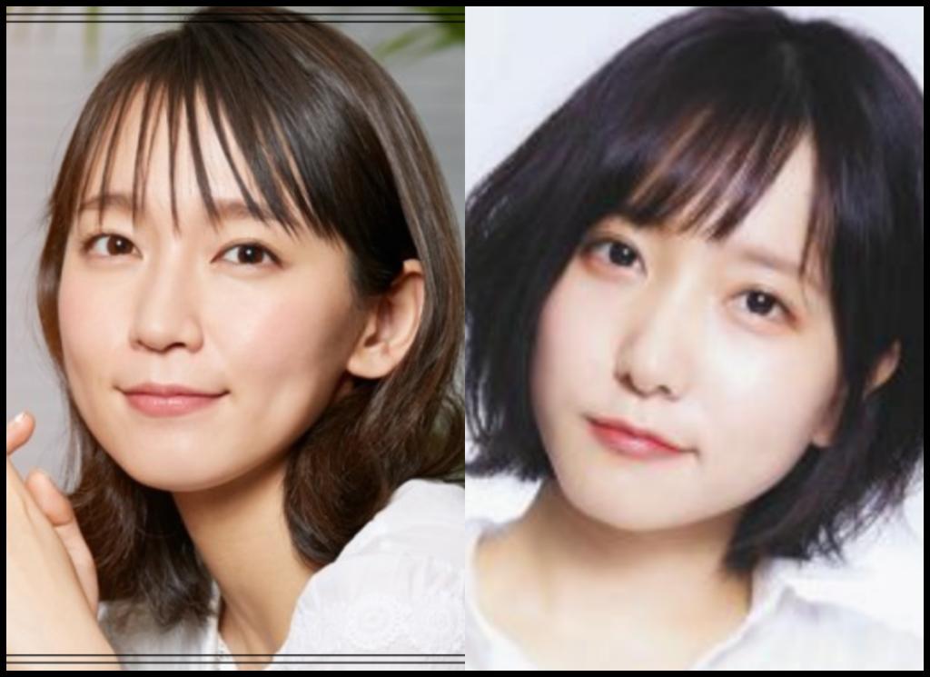 吉岡里帆さんと橘ひと美さんの画像