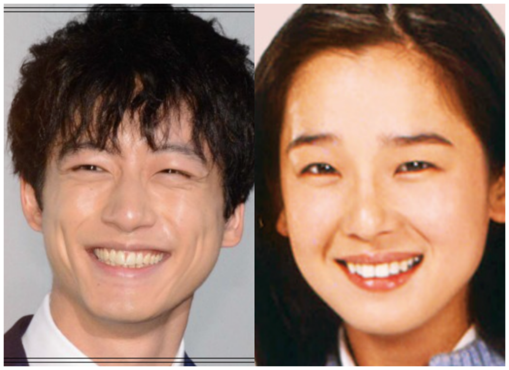 坂口健太郎さんと田中裕子さんの画像