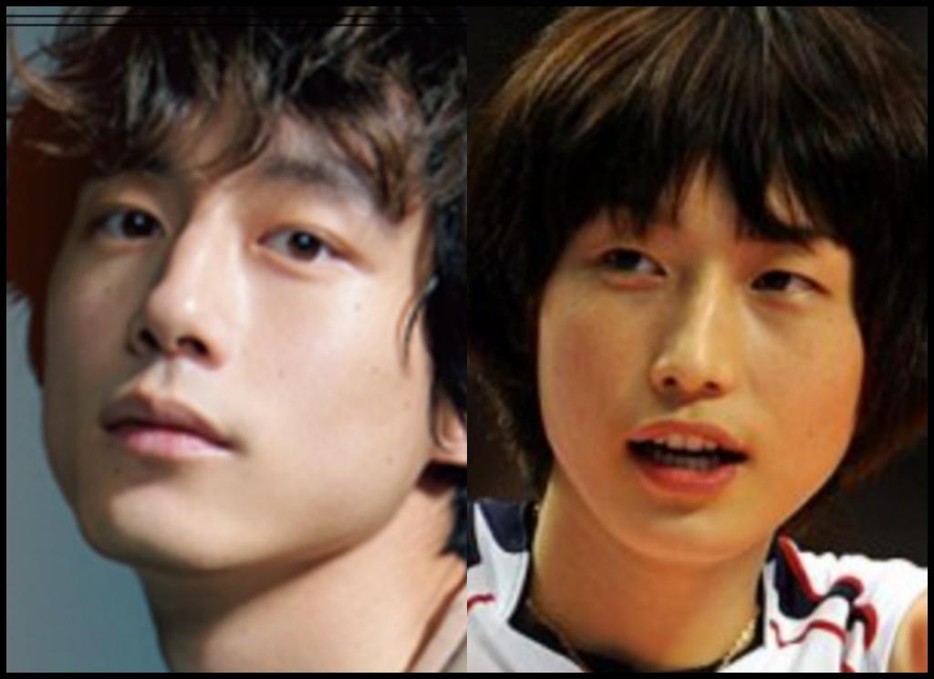 坂口健太郎さんとキム・ヨンギョンさんの画像