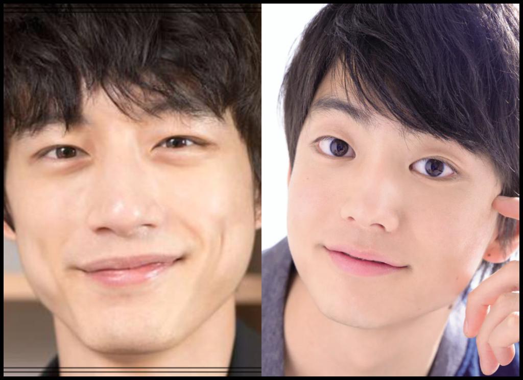 坂口健太郎さんと伊藤健太郎さんの画像
