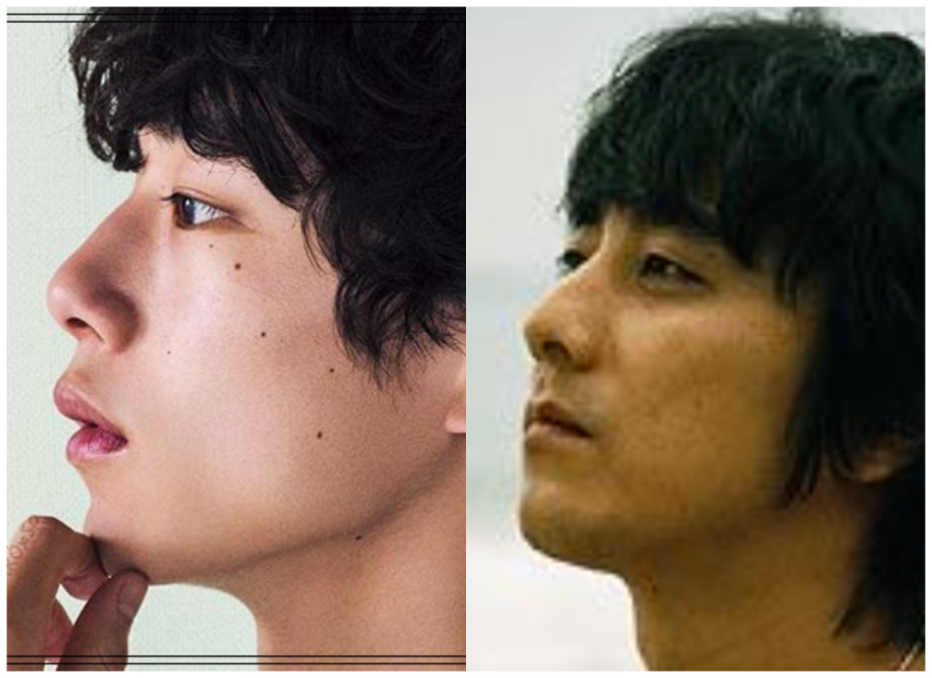 坂口健太郎さんと山崎まさよしさんの画像