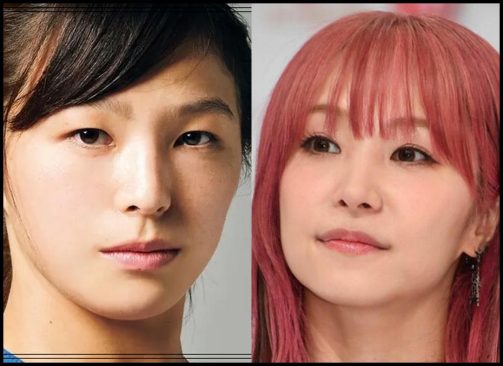 川井友香子選手とLiSAさんの画像