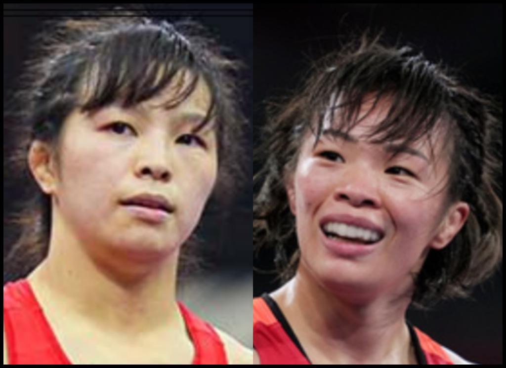 川井友香子選手と川井梨紗子さんの画像