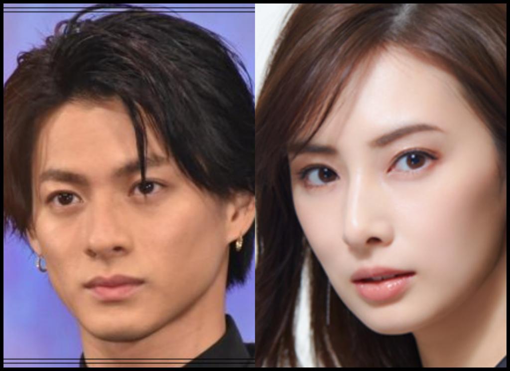 平野紫耀さんと北川景子さんの画像