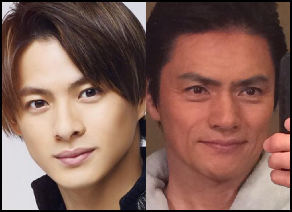 平野紫耀さんと松村雄基さんの画像