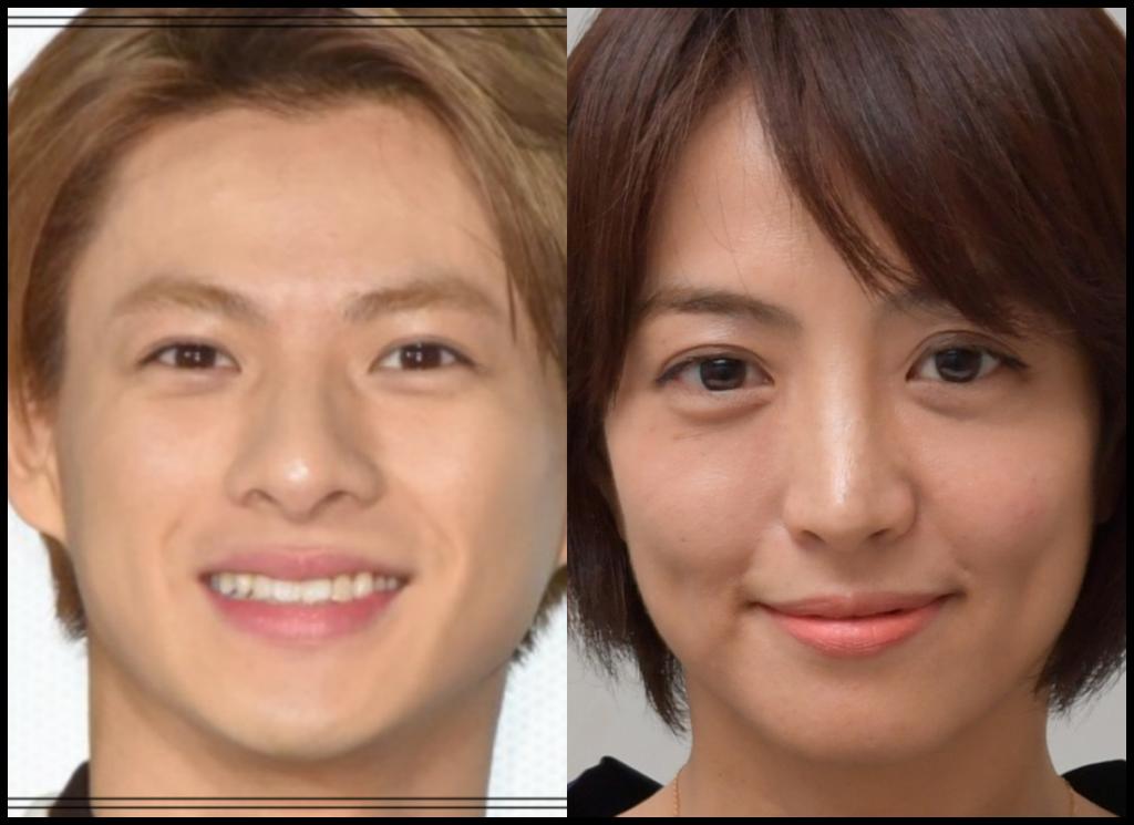 平野紫耀さんと赤江珠緒さんの画像