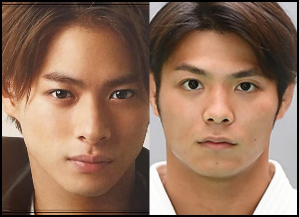 平野紫耀さんと阿部一二三さんの画像