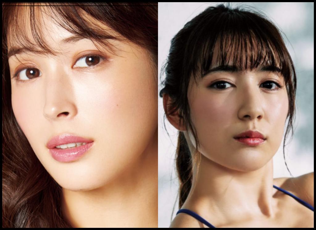 広瀬アリスさんと才木玲佳さんの画像