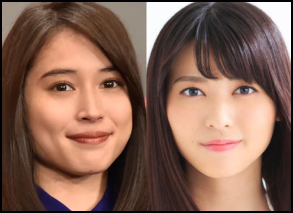 広瀬アリスさんと矢島舞美さんの画像