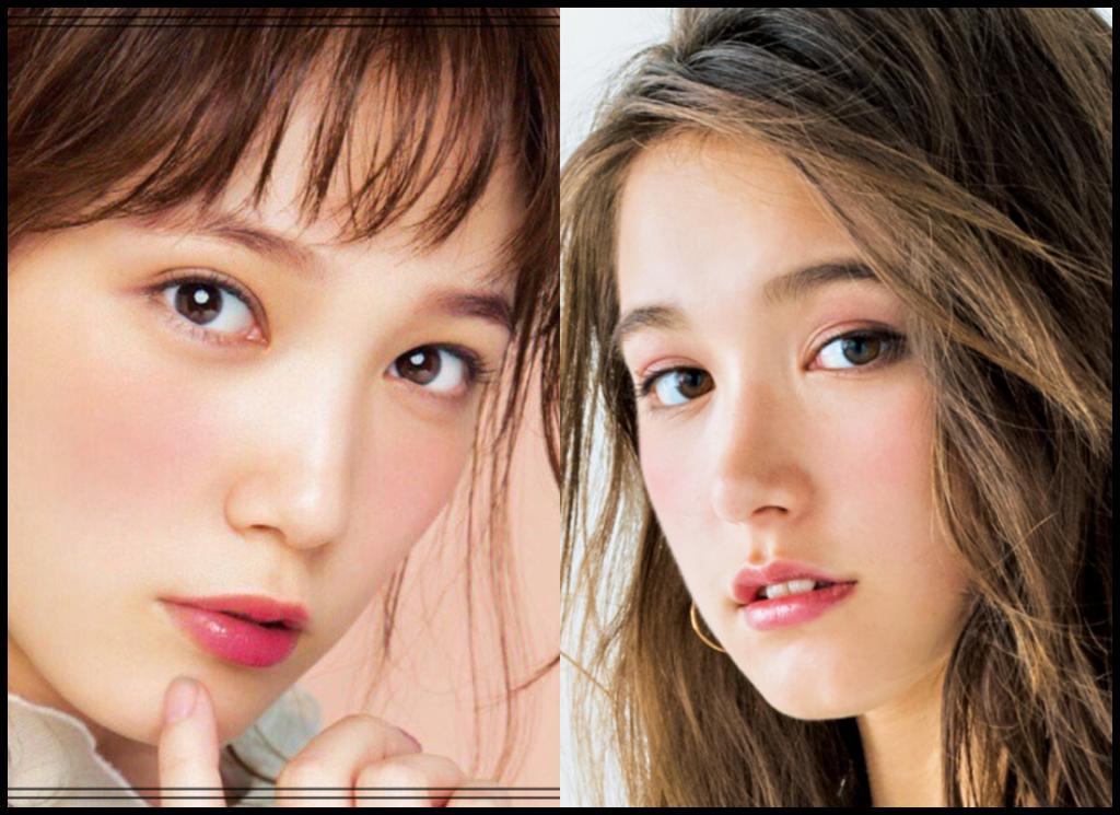 本田翼さんとトラウデン直美さんの画像