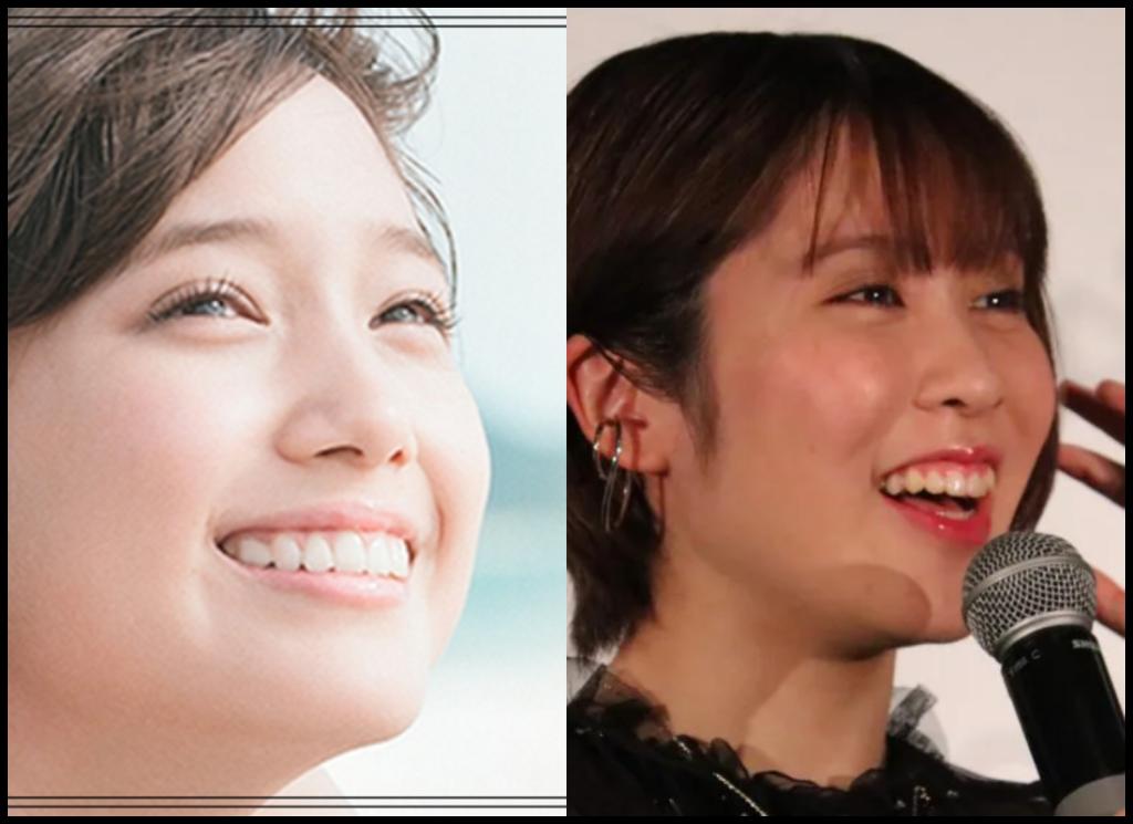 本田翼さんと平野美宇さんの画像