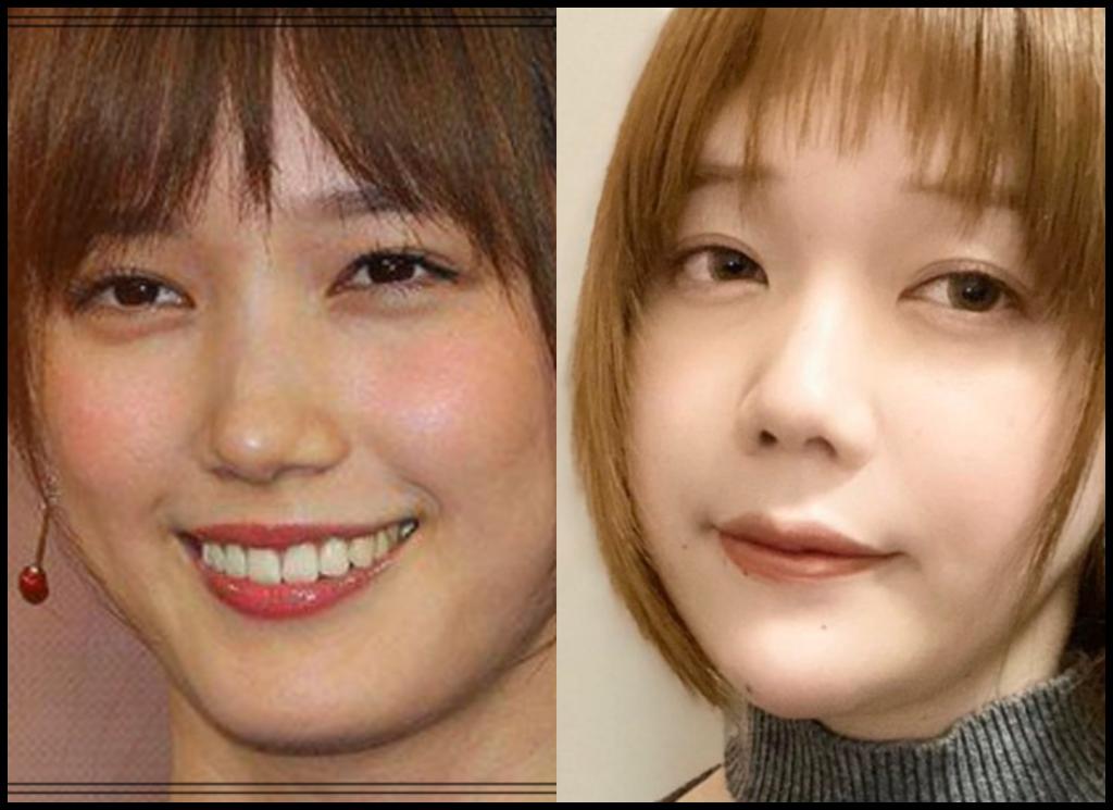 本田翼さんと青木歌音さんの画像