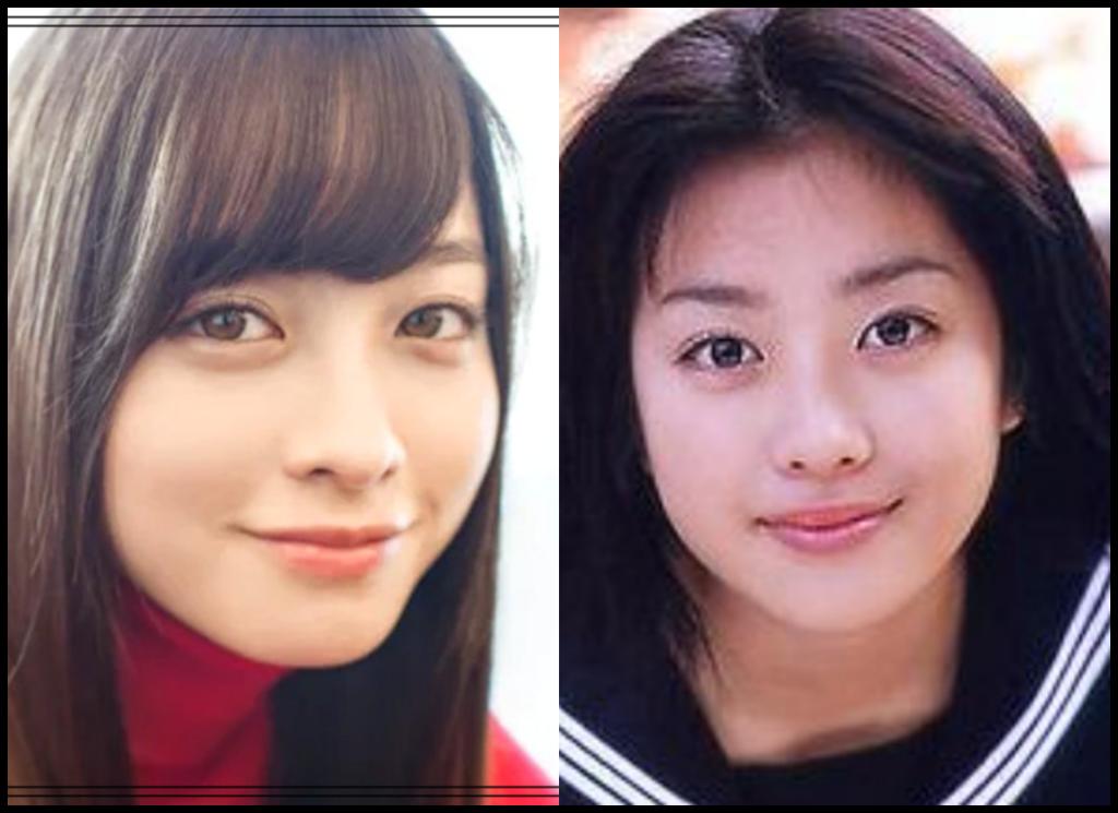 橋本環奈さんと小向美奈子さんの画像