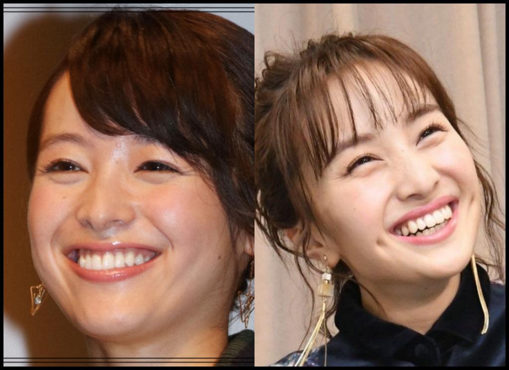 清野菜名さんと百田夏菜子さんの画像