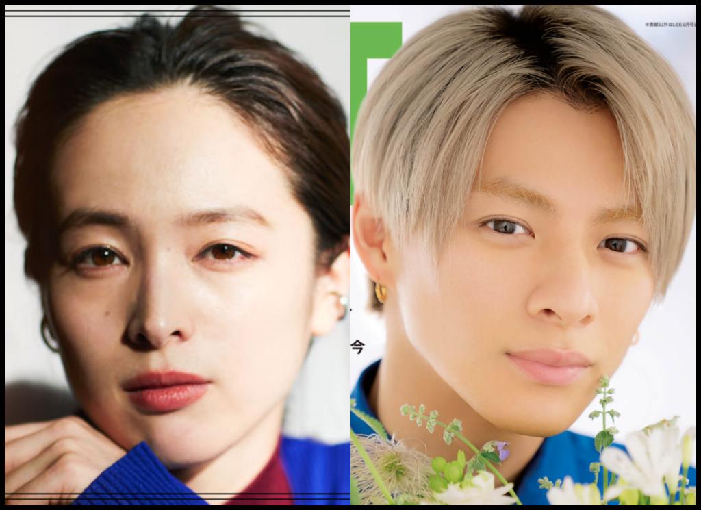 清野菜名さんと平野紫耀さんの画像