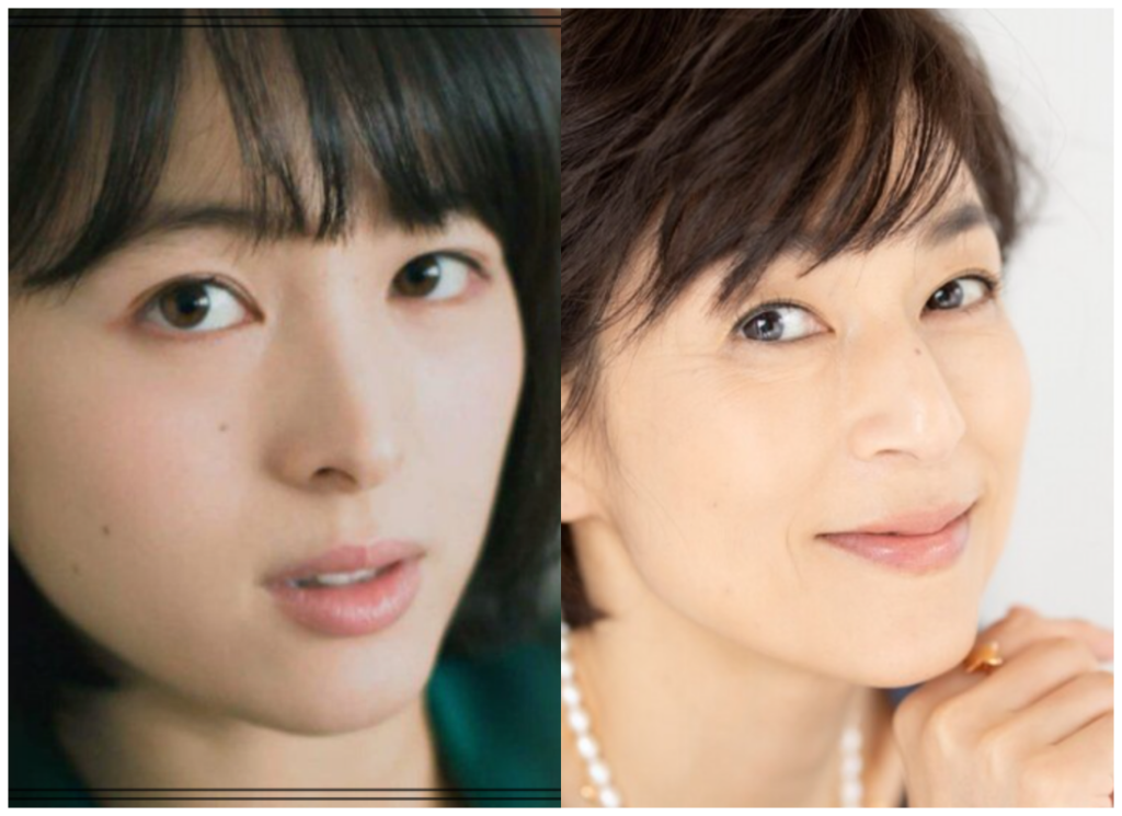清野菜名さんと鈴木保奈美さんの画像