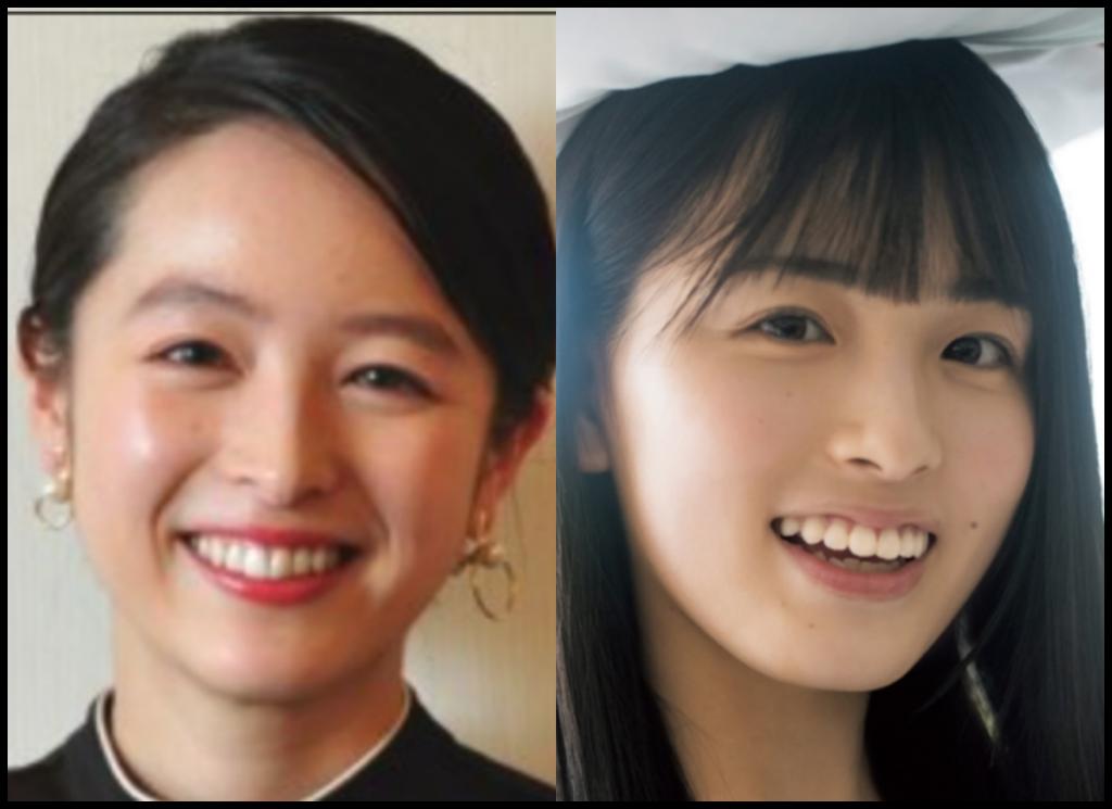 清野菜名さんと大園桃子さんの画像