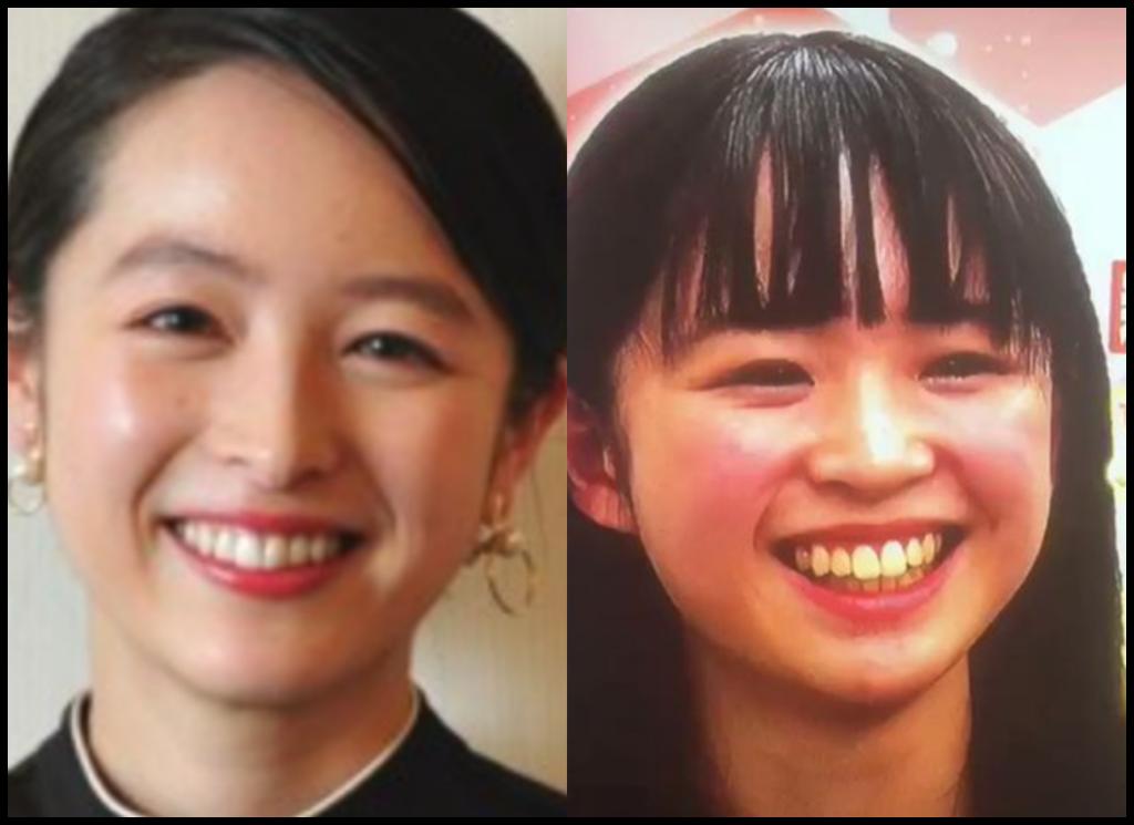 清野菜名さんと紀野紗良さんの画像