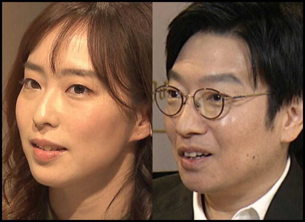 石川佳純選手と小林賢太郎さんの画像