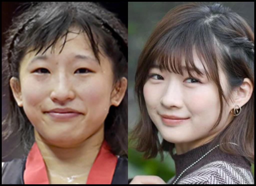 須崎優衣選手と伊藤沙莉さんの画像