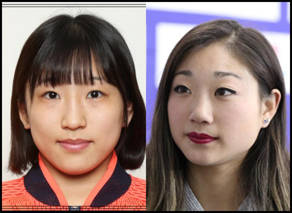 須崎優衣選手と長洲未来さんの画像