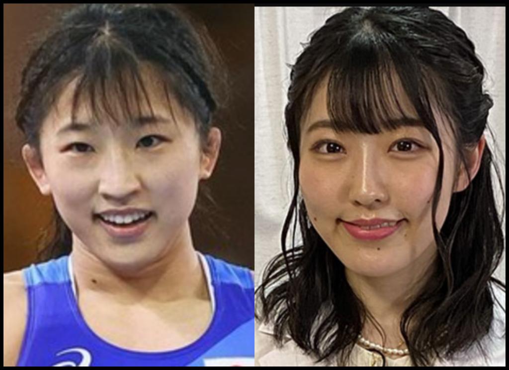 須崎優衣選手と関根瞳さんの画像