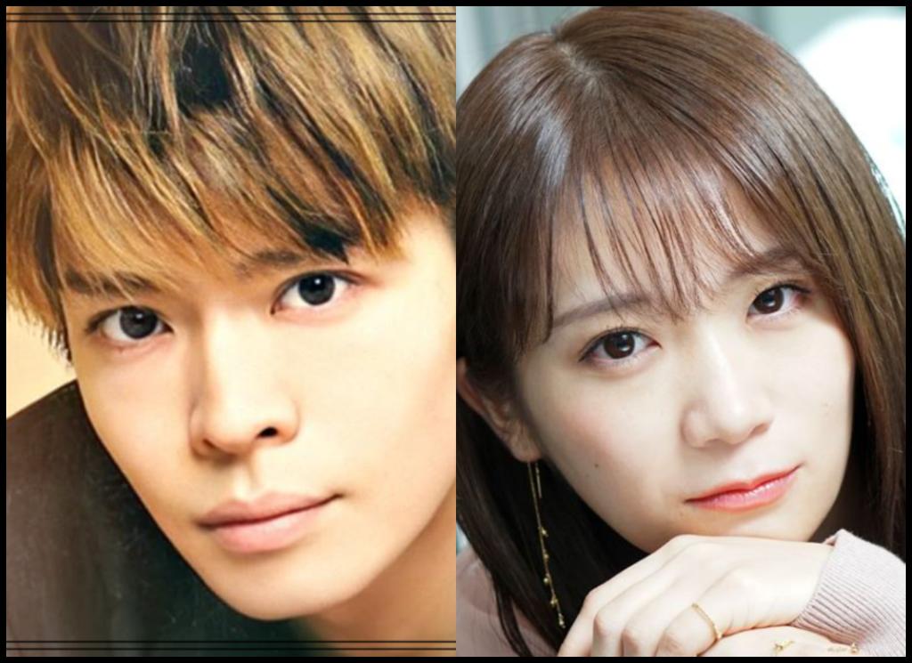 岸優太さんと秋元真夏さんの画像