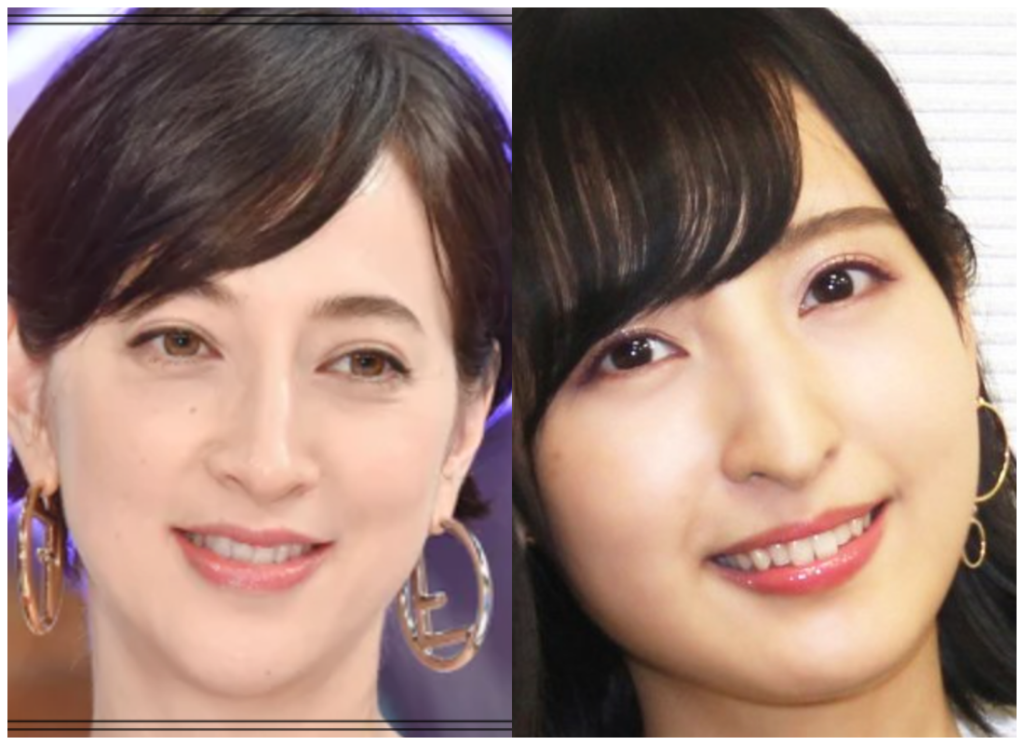 杉咲花さんと佐倉綾音さんの画像