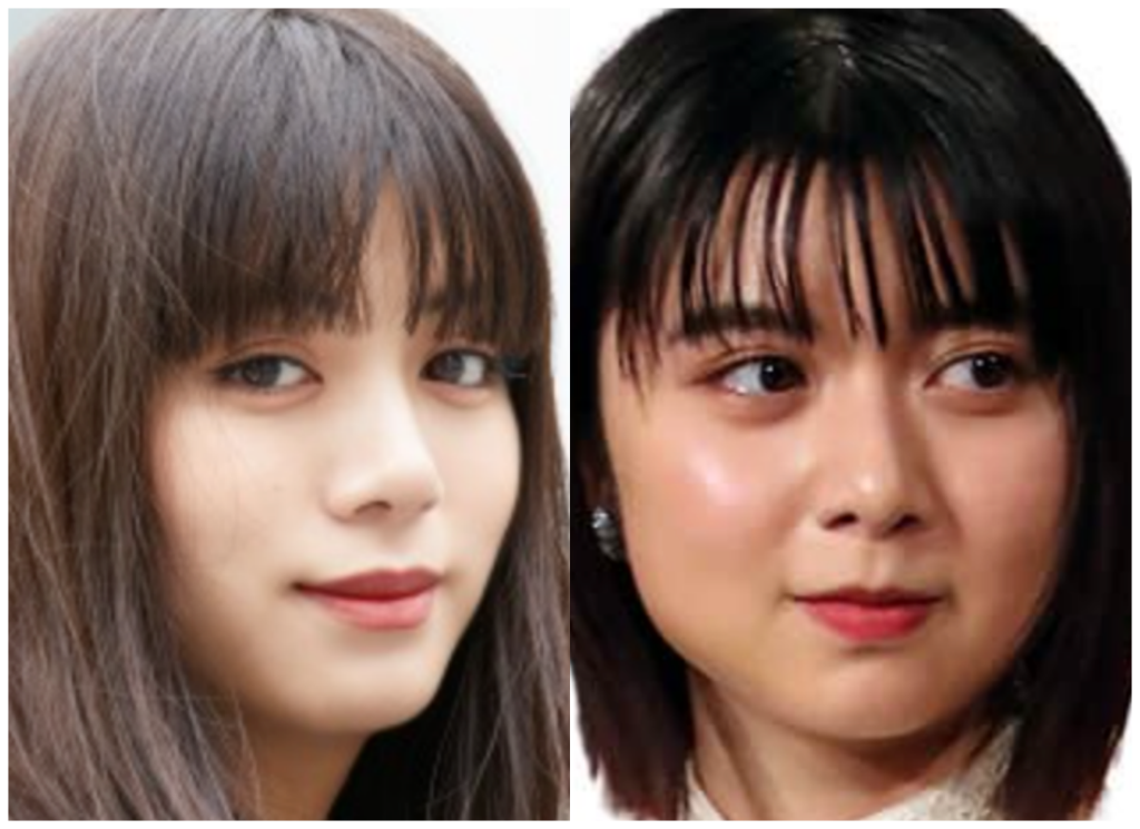池田エライザさんと上白石萌歌さんの画像