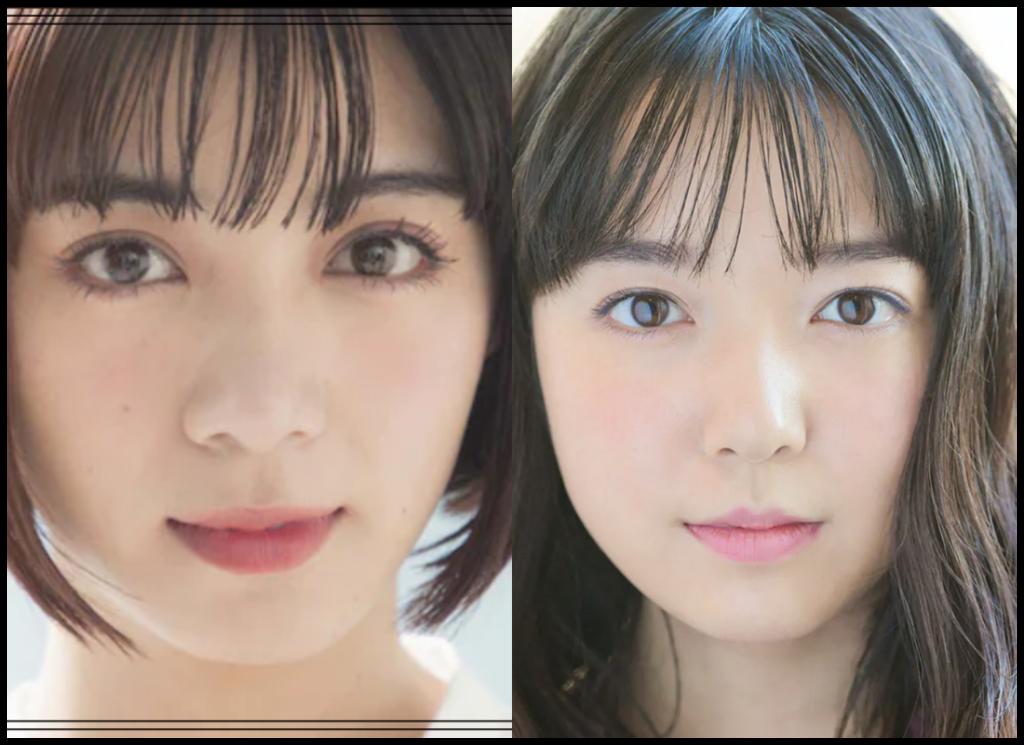 池田エライザさんと上白石萌音さんの画像