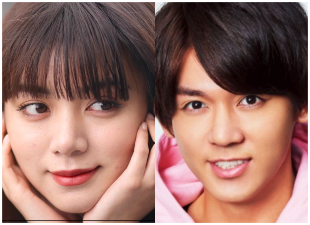 池田エライザさんと小瀧望さんの画像