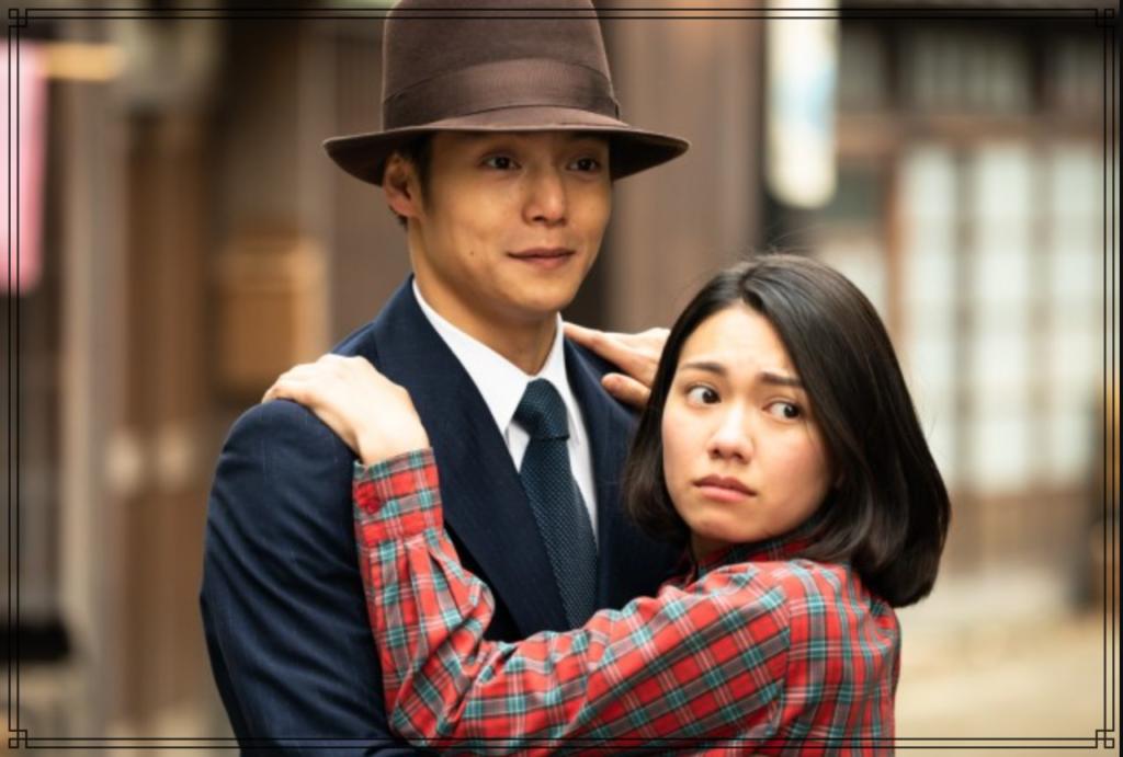 窪田正孝さんと二階堂ふみさんの画像