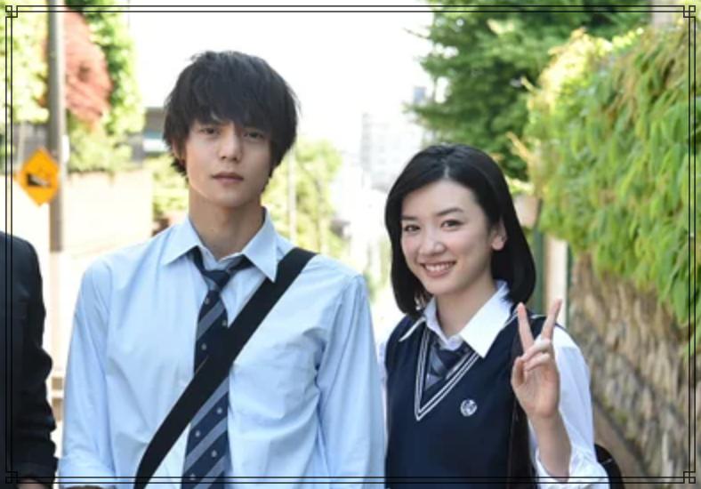 窪田正孝さんと永野芽郁さんの画像
