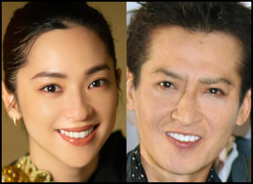 中村アンさんと大沢樹生さんの画像