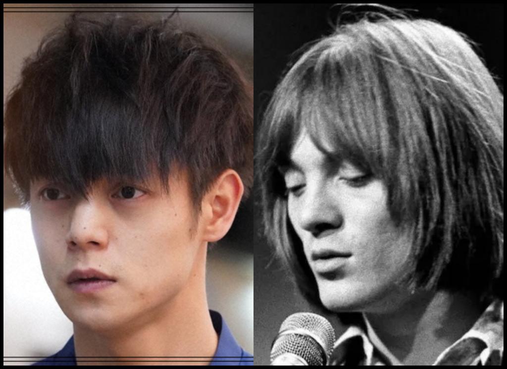 窪田正孝さんとスティーヴ・マリオットさんの画像