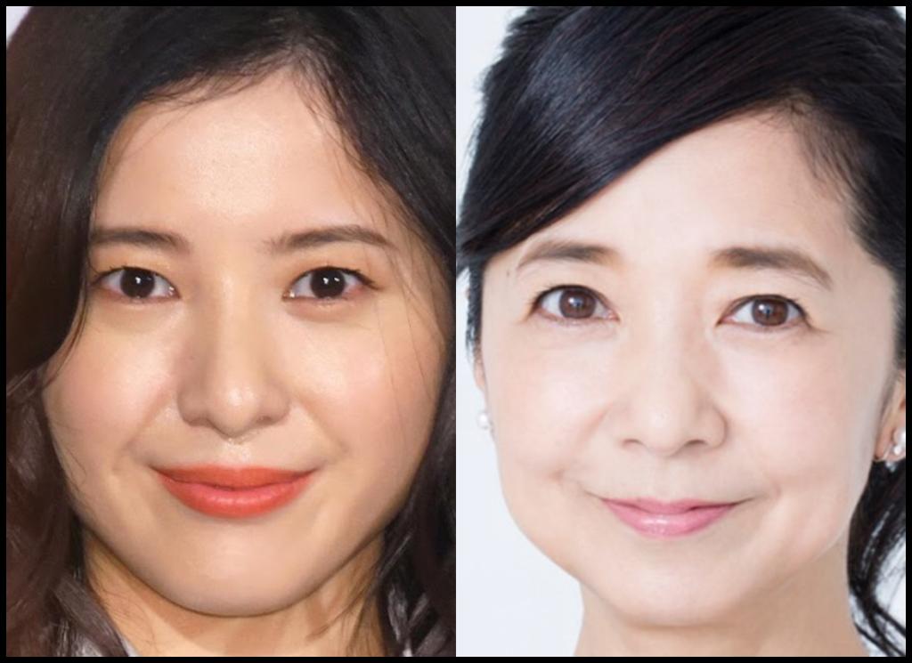 吉高由里子さんと宮崎美子さんの画像